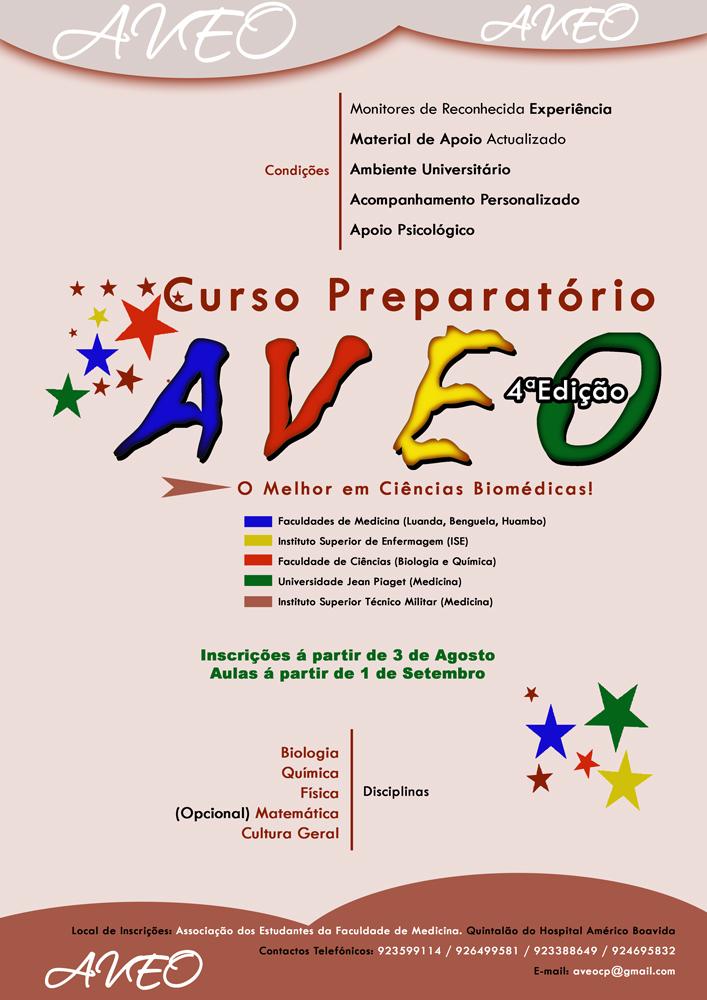 Cartaz Curso Preparatório AVEO 2009